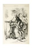 The Spanish Bull in Cuba Gone Mad, 1873 Giclee Print by Thomas Nast