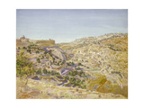 View of Jerusalem, 1854 Giclee Print by Thomas Seddon