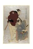 Sandaime Otani Oniji Shodai Ichikawa Omezo Giclee Print by  Toshusai Sharaku