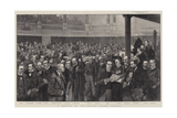 A Meeting of the London County Council Giclee Print by Thomas Walter Wilson