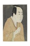 Ichikawa Monnosuke II as Date No Yosaku, May 1794 Giclee Print by  Toshusai Sharaku
