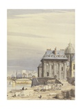 L'Institut De France, Paris, 1830 Giclee Print by Thomas Shotter Boys