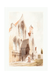 Hospice Des Viellards, Gand, 1839 Giclee Print by Thomas Shotter Boys