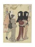 January, C. 1784 Giclee Print by Torii Kiyonaga