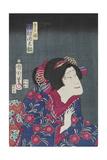 Sawamura Tanosuke as Princess Kiyo, February 1868 Giclee Print by Toyohara Kunichika