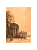 La Chapelle De L'Institut, Paris, 1839 Giclee Print by Thomas Shotter Boys