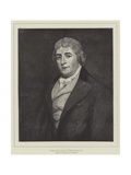 Charles Dibdin (1745-1814), Portrait in the Royal Naval Exhibition Giclee Print by Thomas Phillips
