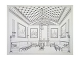 Drawing Room from Household Furniture and Interior Decoration Giclee Print by Thomas Hope