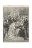 The Royal Wedding Giclee Print by Thomas Walter Wilson