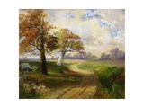 Autumn Scene, 1902 Giclee Print by Thomas Moran