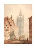 St Nicholas' Cathedral Giclee Print by Thomas Miles Richardson