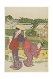 Outing at Muko Jima, 1787 Giclee Print by Torii Kiyonaga