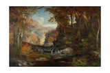 A Scene on the Tohickon Creek: Autumn, 1868 Giclee Print by Thomas Moran
