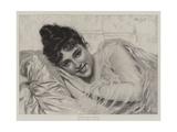 Dolce Far Niente Giclee Print by Tito Conti