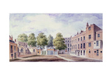 View of Whitehall Yard, 1828 Giclee Print by T. Chawner