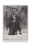The Return of Olivia, the Vicar Dismisses Squire Thornhill Giclee Print by Thomas Walter Wilson