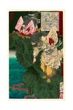 Susano No Mikoto Giclee Print by Tsukioka Yoshitoshi