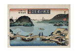 Twilight, Atami', from the Series 'Eight Views of Famous Places' Giclee Print by Toyokuni II