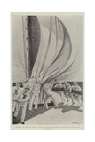 The America Cup Giclee Print by T. Dart Walker