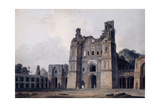 The Atala Mosque, Jaunpur, Uttar Pradesh, (Pencil, Pen and Black Ink, W/C) Giclee Print by Thomas & William Daniell
