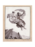 Abduction of Psyche, Trieste, Le 12 Oct 1824 Wydruk giclee autor Therèse Macdonale