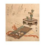 Fukujuso Tosa Nikki Shiori Giclee Print by Toyota Hokkei