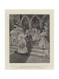The Duke of Marlborough's Marriage to Miss Consuelo Vanderbilt Giclee Print by T. Dart Walker