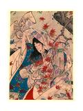 Sumiyoshi No Meigetsu Giclee Print by Tsukioka Yoshitoshi