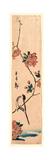 Kaido Ni Shokin Impression giclée par Utagawa Hiroshige