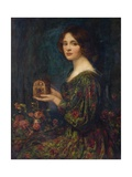 The Jewelled Casket Gicléetryck av Thomas Edwin Mostyn