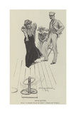 Deck-Quoits Giclee Print by Stanley L. Wood
