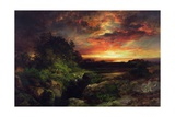 An Arizona Sunset Near the Grand Canyon, 1898 Giclee Print by Thomas Moran