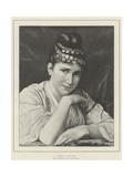 Zuleika Giclee Print by Tito Conti
