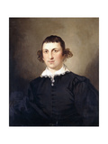 Portrait of a Gentleman, Probably Mr. Lyte, in Black Van Dyke Costume, 1769 Giclee Print by Tilly Kettle