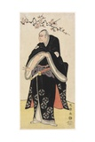 Arashi Ryuzo as Otomo No Yamanushi, 1794 Giclee Print by  Toshusai Sharaku