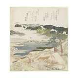 Sunrise on New Year's Day at Kanazawa Giclee Print by Toyota Hokkei