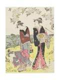 April, 1783 Giclee Print by Torii Kiyonaga