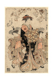 Chojiya Uchi Chozan, the Courtesan Chozan of Chojiya,1783 Giclee Print by Torii Kiyonaga