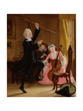 The Power of Music, 1823 Giclee Print by Thomas Sword Good
