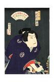 Sawamura Tossho No Shirai Gonpachi Giclee Print by Toyohara Kunichika