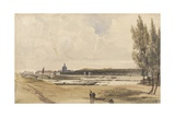 On the Seine, 1831 Giclee Print by Thomas Shotter Boys