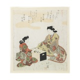Sugoroku (Japanese Backgammon), 1820-1822 Giclee Print by Toyota Hokkei