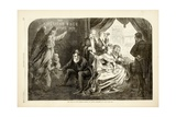 The Wife of the Period - Suffer No Little Children to Come Unto Me, 1869 Giclee Print by Thomas Nast