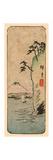 Honmoku Kara No Fuji [O Nozomu] Giclee Print by Utagawa Hiroshige
