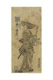 The Actor Ichikawa Benzo as the Page Kichisaburo, May 1766 Giclee Print by Torii Kiyomitsu