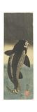 Black Carp, C. 1842 Giclee Print by Utagawa Kuniyoshi