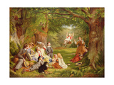 The Picnic Giclee Print by Thomas P. Hall