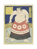 Wrestler Tagonoura Tsurukichi, March 1866 Giclee Print by Utagawa Kunisada II