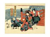 Sandanme Giclee Print by Utagawa Kuniyasu