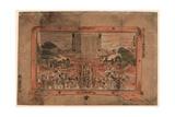Kennyuhsan No Zu Ni Giclee Print by Utagawa Toyoharu